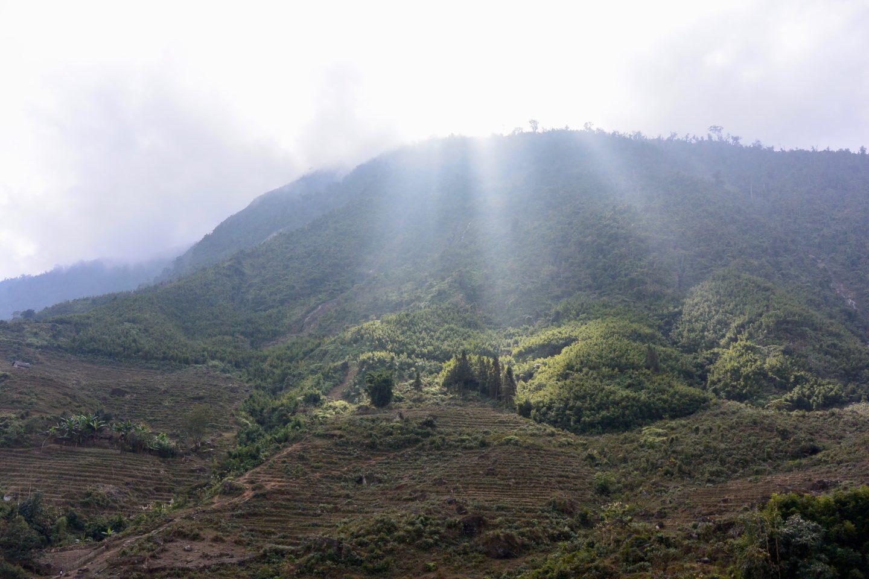trekking around Ta Van