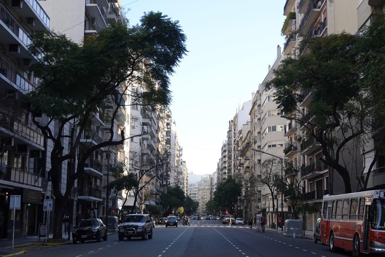 Avenida Alvear, Recoleta.