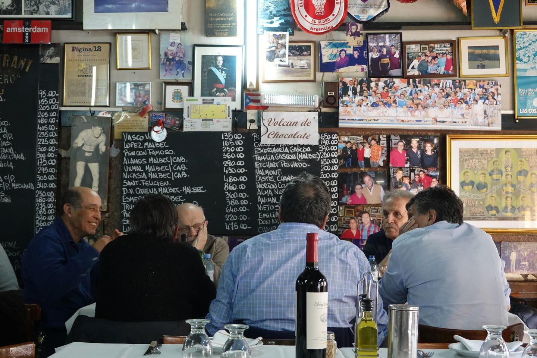 Where to eat in La Boca.