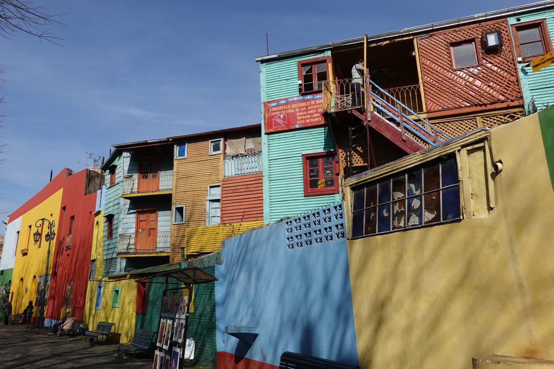 Caminito, the colorful alley museum of La Boca.