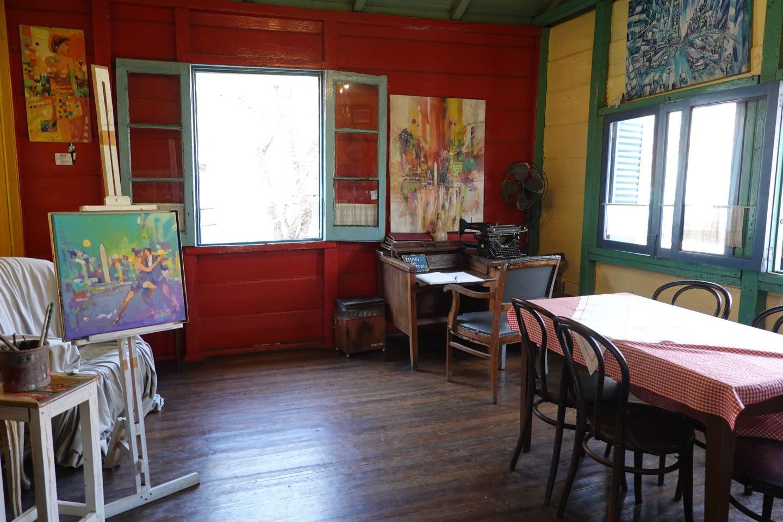 """Inside the """"conventillo"""" El Gran Paraíso, La Boca."""