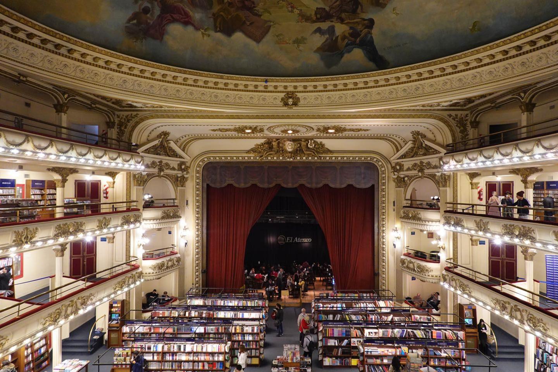 El Ateneo, the second prettiest bookshop in the world.