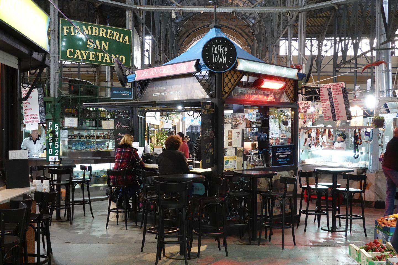 San Telmo Market, the best market in Buenos Aires.