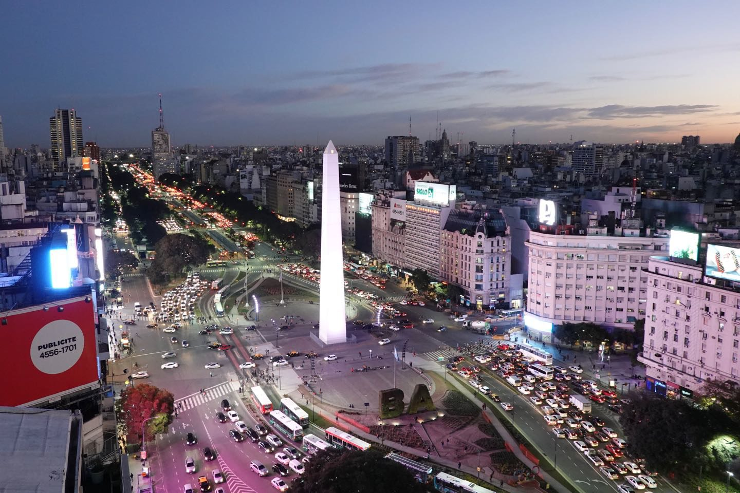 Where to get the best views of Buenos Aires.