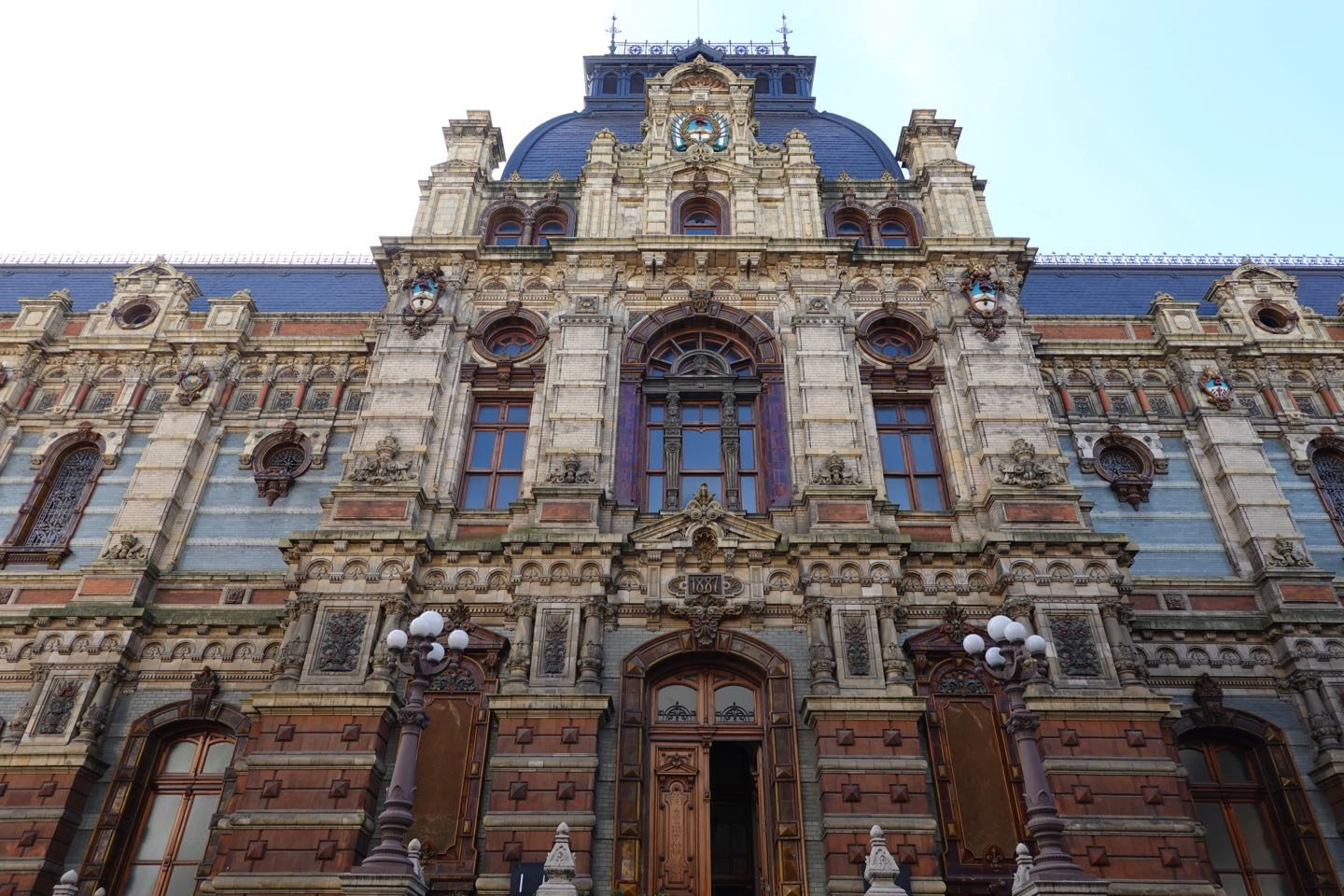 Palacio de Aguas Corrientes one of the most beautiful and least visited places in Buenos Aires.