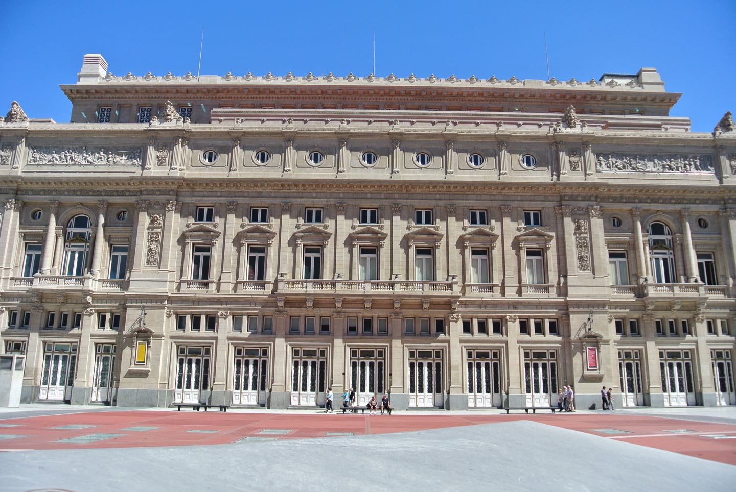 Teatro Colon, one of the most important theaters in the world.