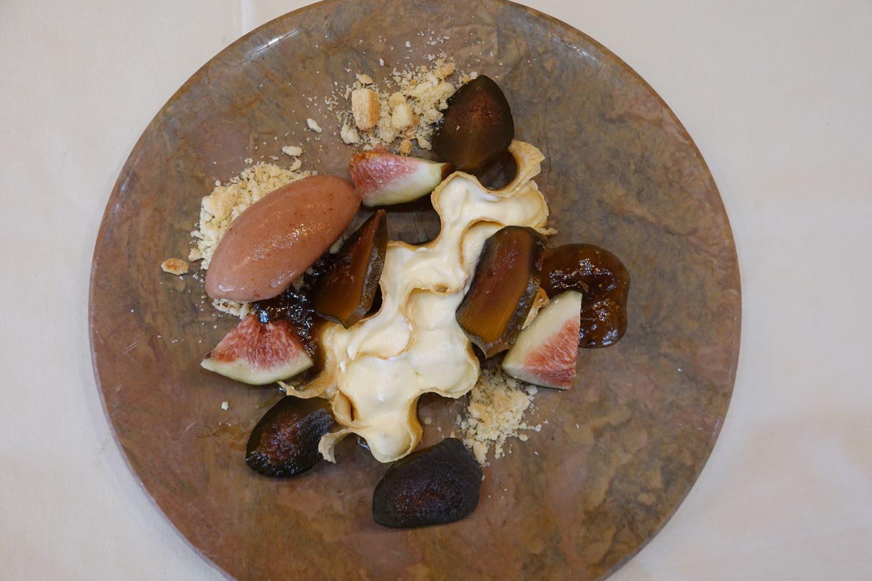 Dessert of the Sibaris Restaurant