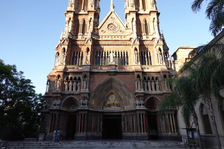 Frente de la Iglesia de los Capuchinos