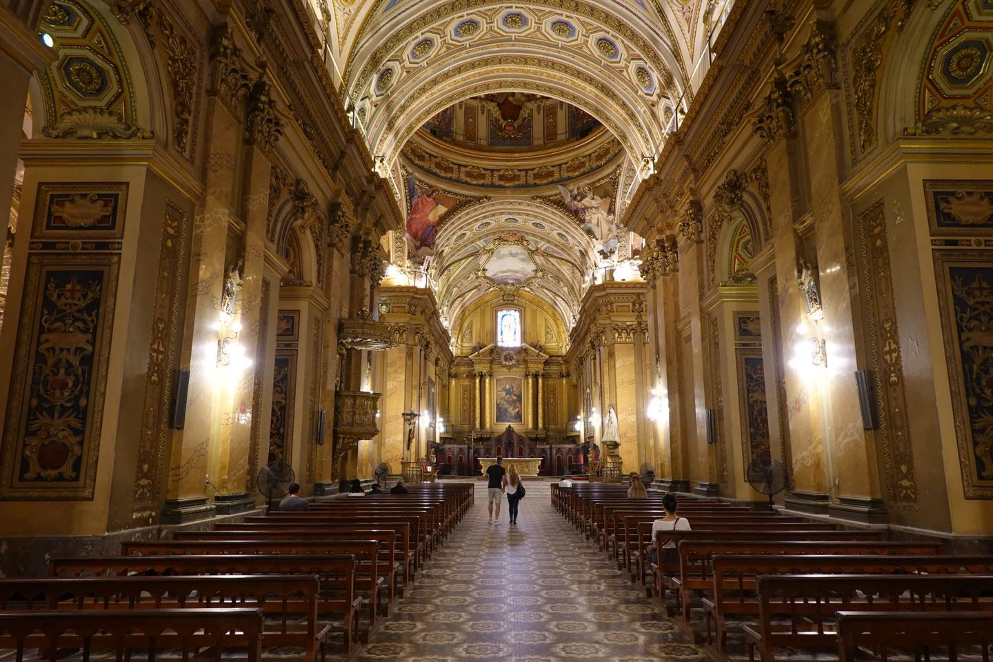 interior of the Cathedral of Cordoba