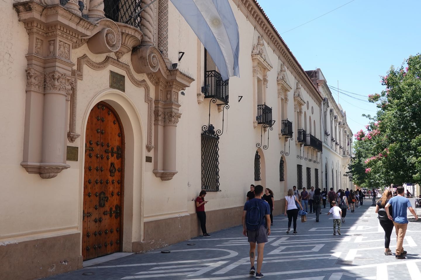 Front entrance of the Monserrat National Collegium