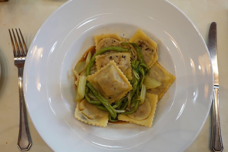 Main course of Sibaris Restaurant