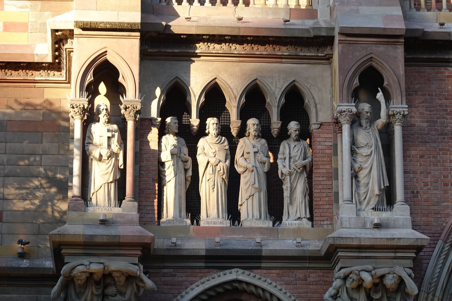 statues of the Sacred Heart Church of the Capuchin Fathers