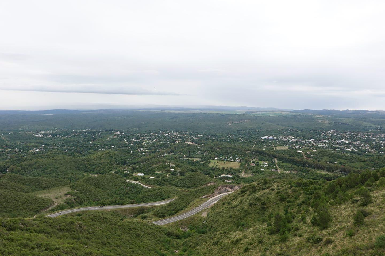 Mirador panorámico en Camino del Cuadrado.