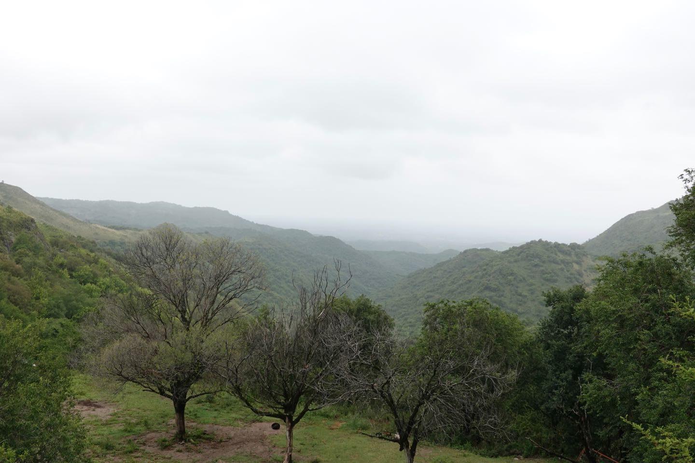 Vista desde la base de la aerosilla del Cerro Pan de Azúcar