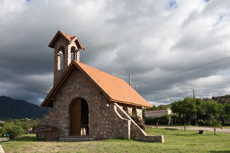 Capilla Nuestra Señora del Valle on the outskirts of Capilla del Monte.