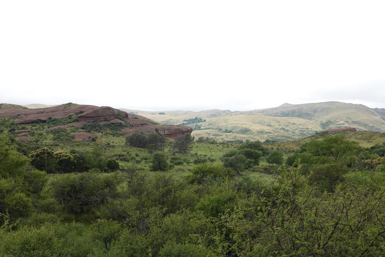 Landscape on the RP17 near Grutas de Ongamira.