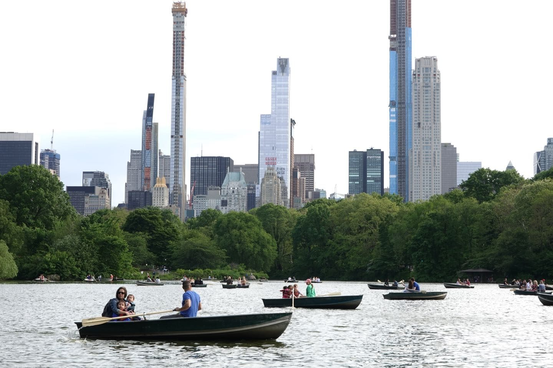 Mejores atracciones del Central Park. Oak Bridge.