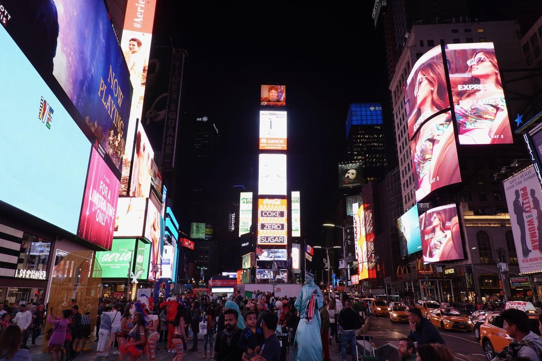 Time Square de noche