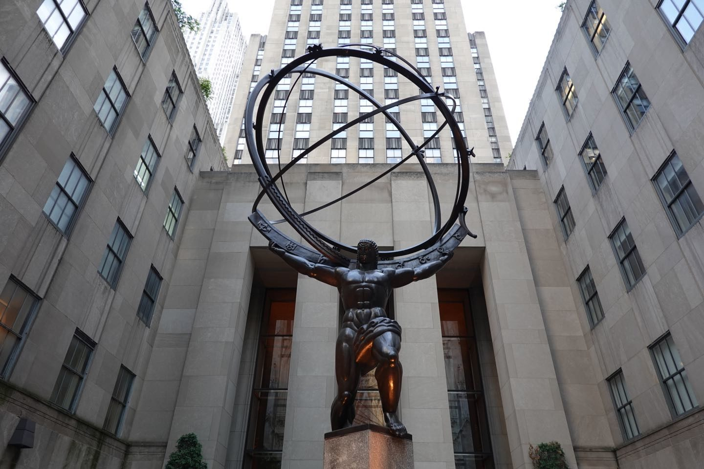 Atlas. An icon of many tv shows and movies filmed in NYC.