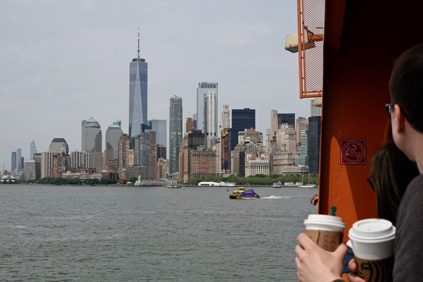 Ferries and Cruises in NYC.