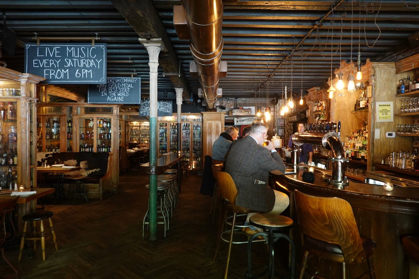 Best taverns in NYC.
