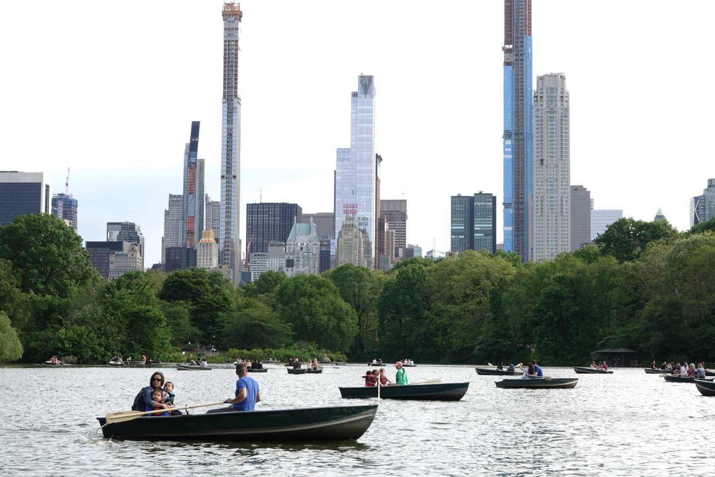 Top attractions in Central Park, NYC.