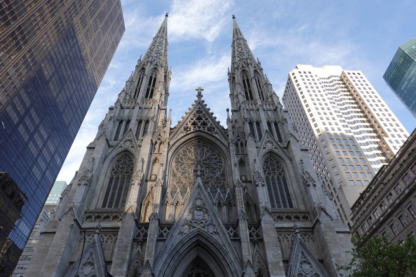 The most famous church in NYC.