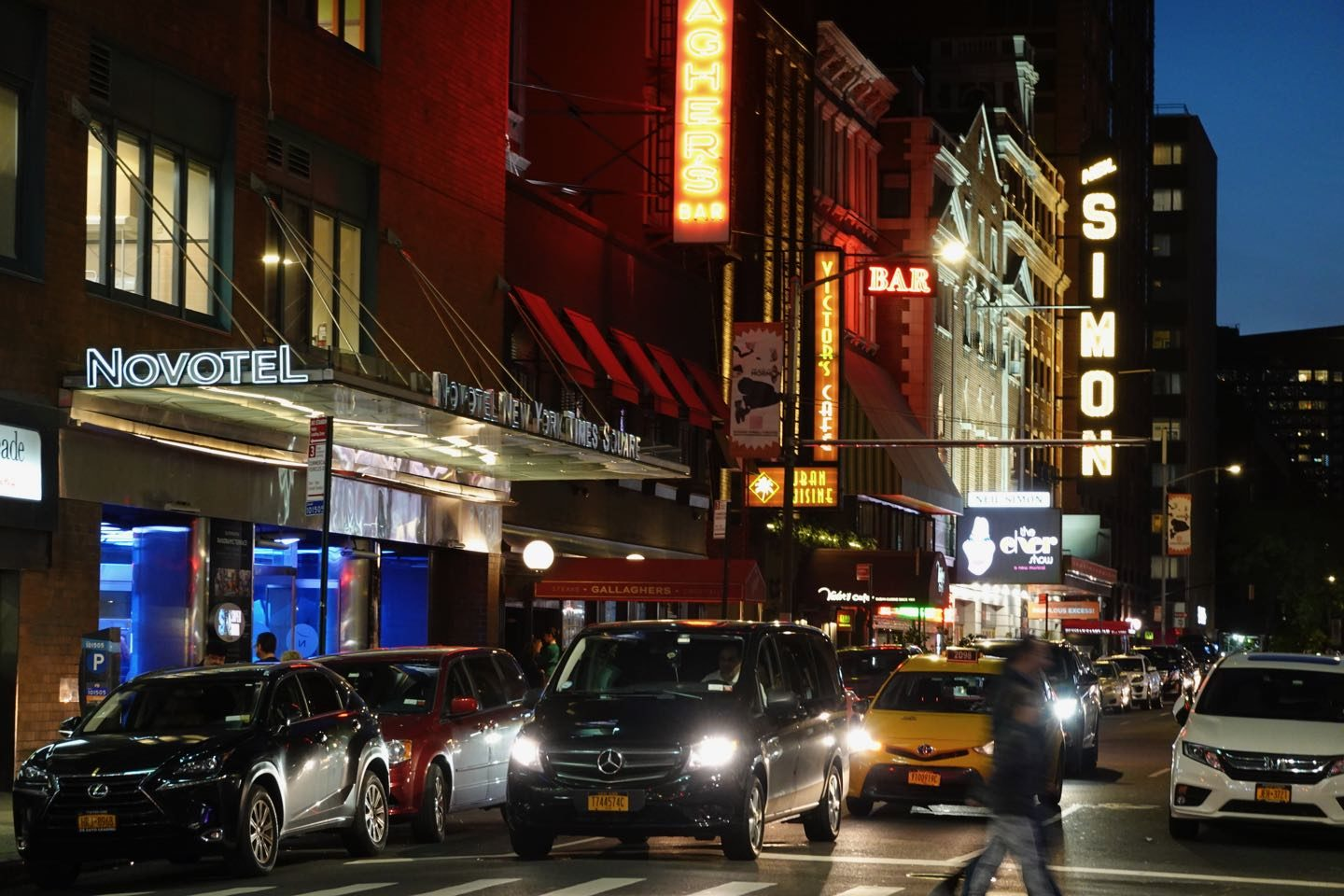 Theater District of NYC.