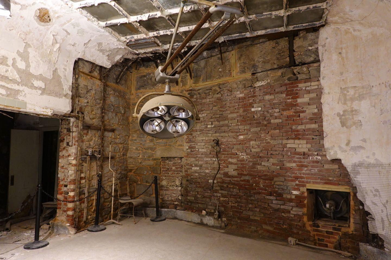 Hospital de una prisión abandonada