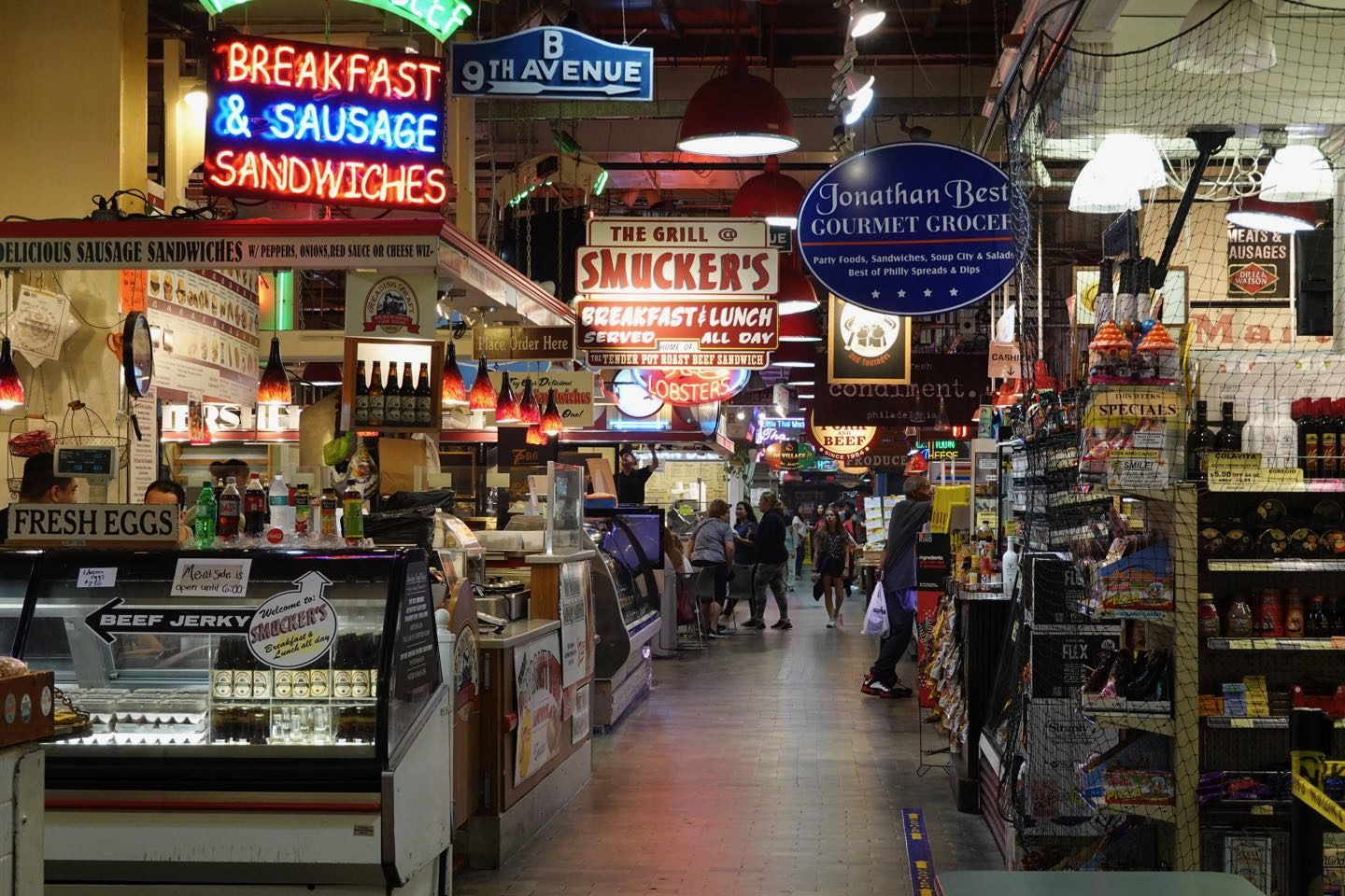 Best places to eat in Philadelphia.