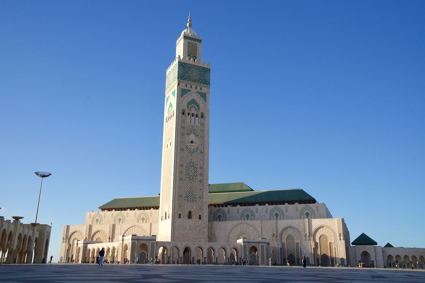 Hassan II Mosque. Best things to do in Casablanca.