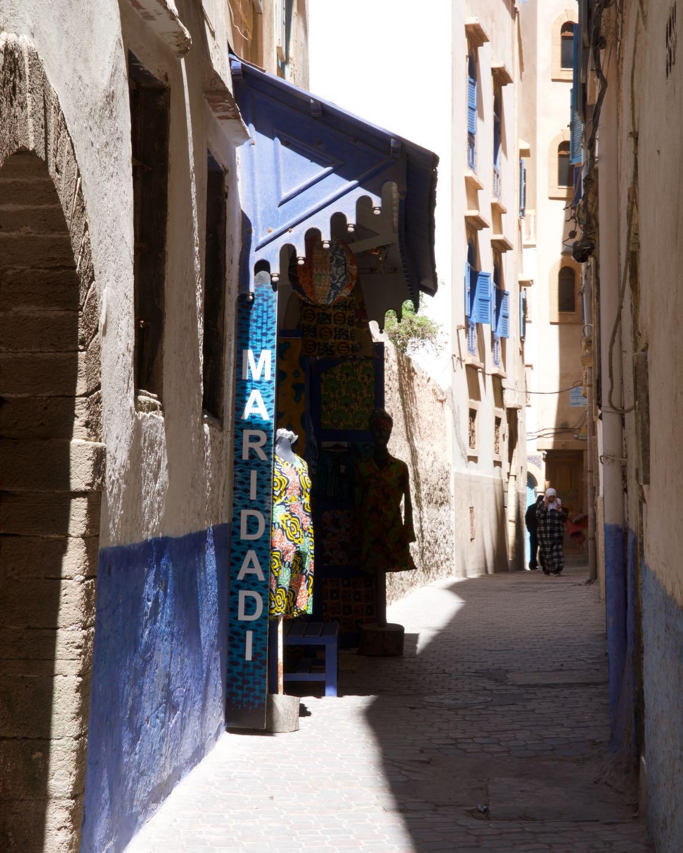Random streets of Essaouira.
