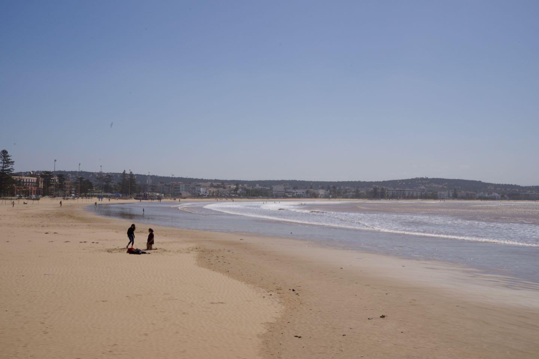 Playa de Essaouira, un lugar para el surf.