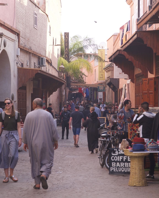 Medina de Marrakech, la medina mas linda de Marruecos.