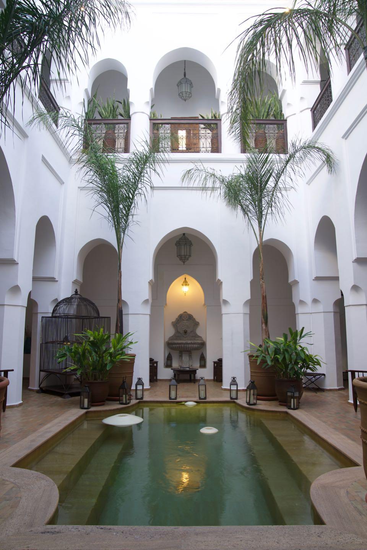 Dónde dormir en Marrakech.