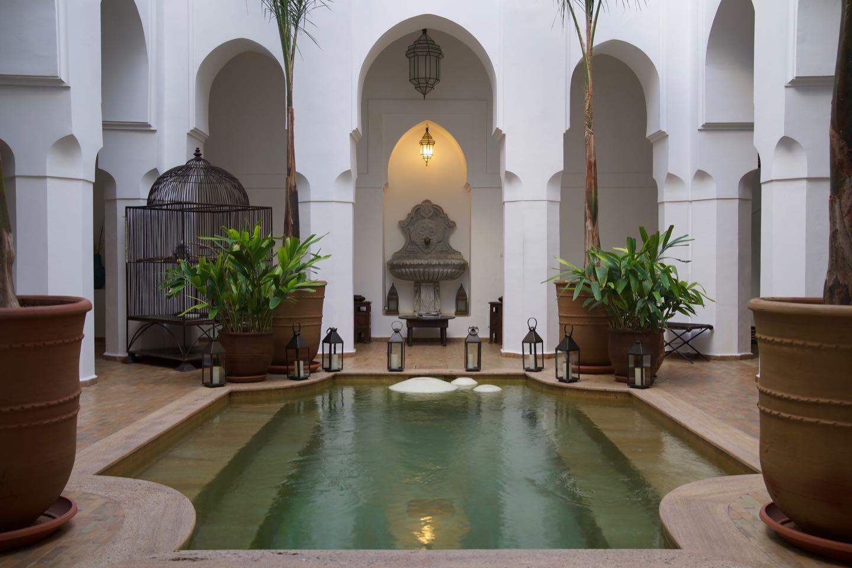 El mejor riad hotel de Marrakech.